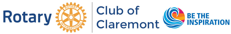 Rotary Club of Claremont Retina Logo